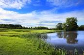 Lake side fairway at this brilliant Oulton Hall Golf Course