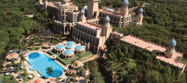 Sun City Palace of the Lost City - Aerial View