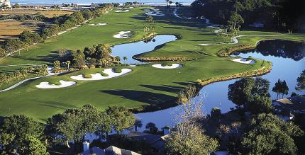 Aerial View of 9th, 10th and 11th Holes - Robert Trent Jones Course