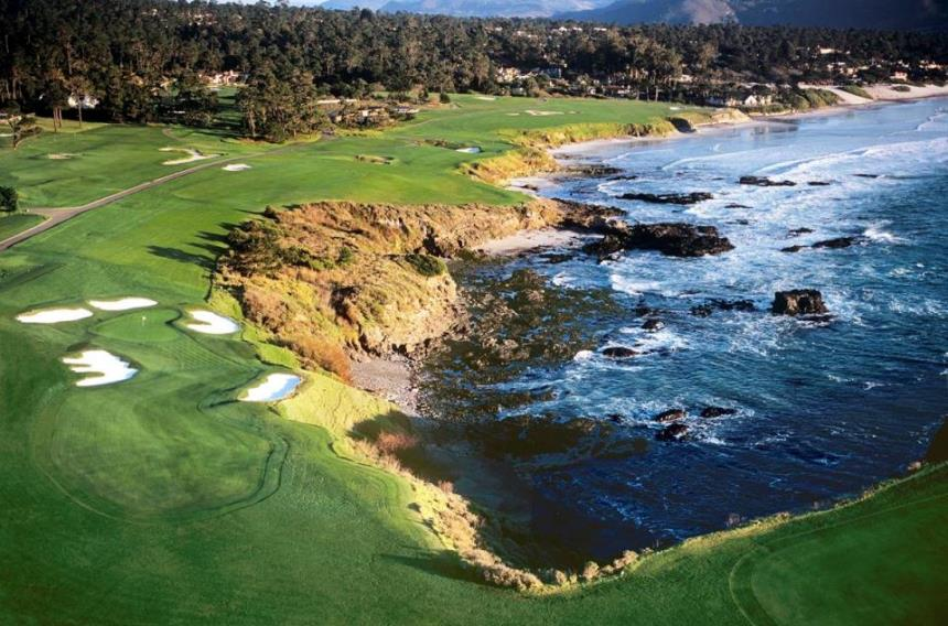 Pebble Beach Golf Links No 8 Joann Dost Copy