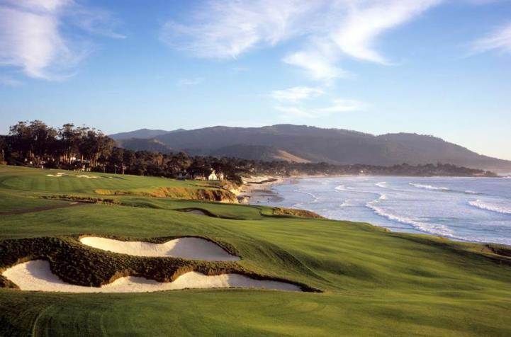 Pebble Beach Golf Links No. 9 - Joann Dost (Copy)