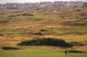 Large sand dunes throughout all 36-holes on Royal Portrush
