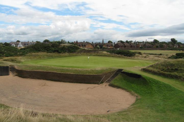 Large bunkers feature at Prestwick
