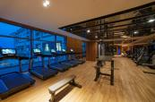 Fitness centre at Regnum Carya Golf & Spa