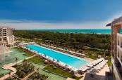 Outdoor swimming pool at Regnum Carya Golf & Spa