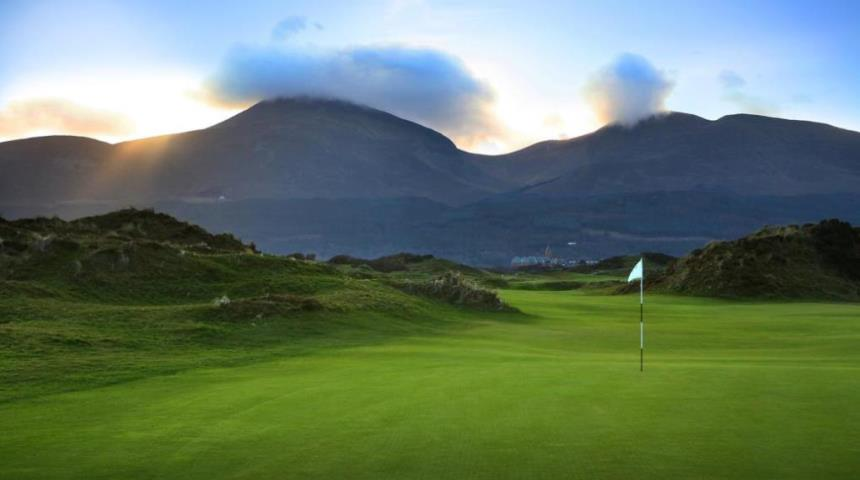 Annesley links course royal county down golf club down for Royal county down