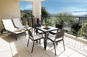 Terrace area Suite Premium at Royal Mougins