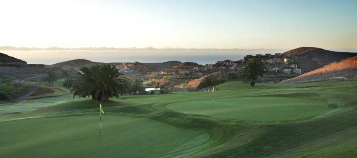 Stunning 12th hole on the Salobre South Course