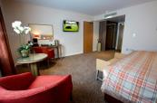 Spacious double bedroom at Sandford Springs
