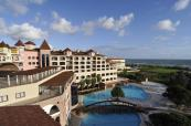 Overview of the hotel and pool at Sirene Belek Hotel