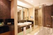 Villa bathroom at Sirene Belek Hotel
