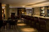 Great bar which is perfect for a drink after a round at Slaley Hall Golf Club
