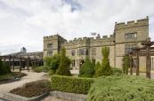 Stunning mansion house at Slaley Hall Golf Resort
