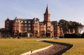 Beautiful manor house at Slieve Donard Hotel, Northern Ireland