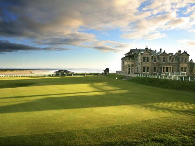 old course at st andrews  fife  scotland