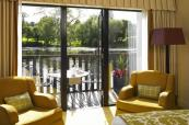 Lake views from your window when staying in one of St Pierre's suites