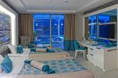 Luxurious interior at Sueno Hotels Deluxe Belek