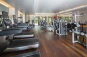 Fitness area at Terre Blanche Hotel Spa Golf Resort
