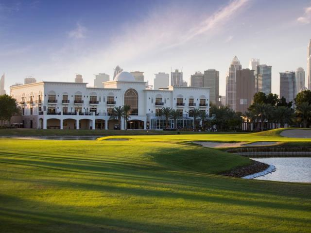 18th Hole - The Address Montgomerie Dubai
