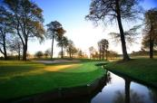 Great view of the signature 10th hole at the Belfry's Brabazon Course