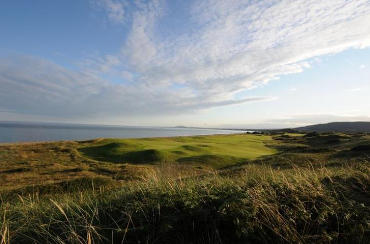 The simply stunning European links Course