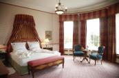 The authentically styled large double suite at The K Club Spa and Country Club in Ireland