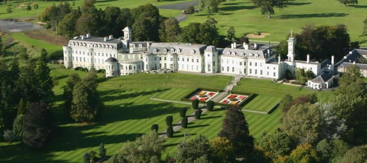 The K Club Spa and Country Club in Ireland