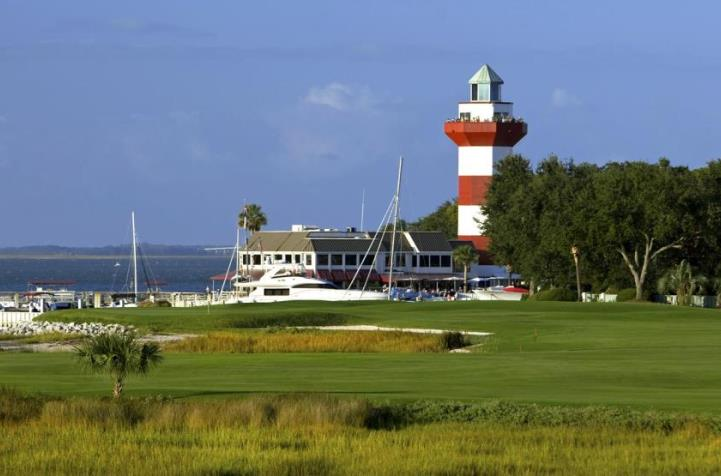 Harbour Town Golf Links #18 without golfers