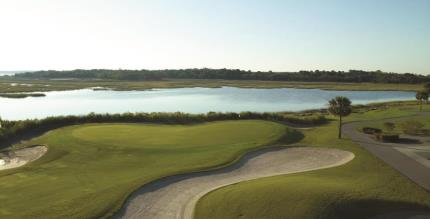 9th Hole - Oak Point Course at Kiawah Island