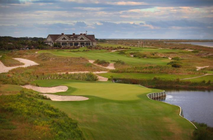the 17th hole at Kiawah Island Golf Club