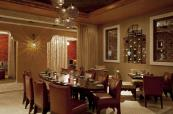 Luscious dining area at The Westin Abu Dhabi Golf Resort & Spa