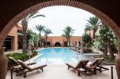 Pool area at Tikida Golf Palace, Agadir