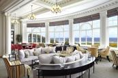 Ailsa bar and lounge area at Turnberry