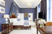 A luxurious bedroom at Trump Turnberry