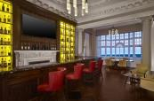 The luxurious bar at Turnberry